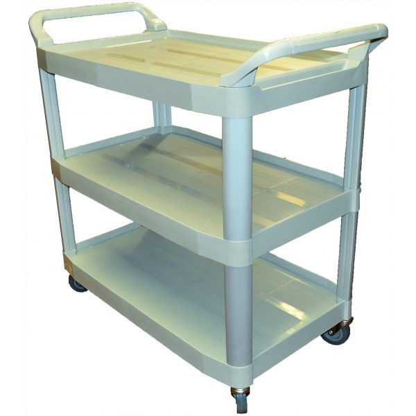 UTILITY CARTS WHITE-SYDNEYCLEANINGSUPPLIES