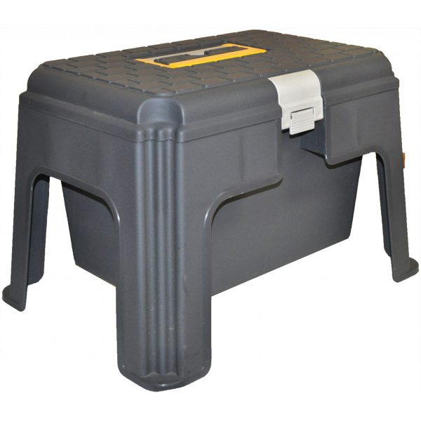 STEP STOOL WITH STORAGE COMPARTMENT-SYDNEYCLEANINGSUPPLIES