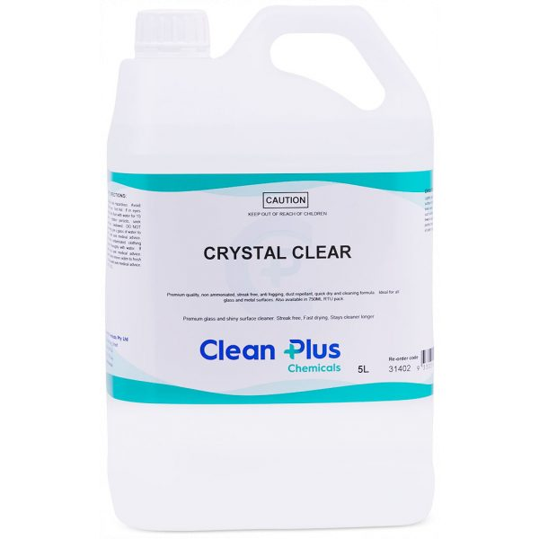 CRYSTAL CLEAR-SYDNEYCLEANINGSUPPLIES