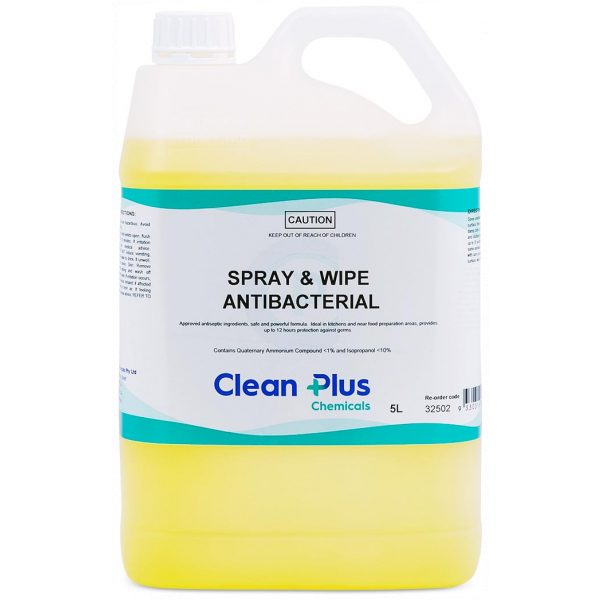 SPRAY AND WIPE-ANTIBACTERIAL-SYDNEYCLEANINGSUPPLIES