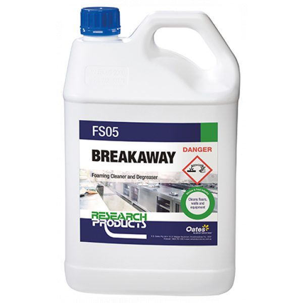 BREAKAWAY *HIGH FOAM CLEANER/DEGREASER* - SYDNEY CLEANING SUPPLIES