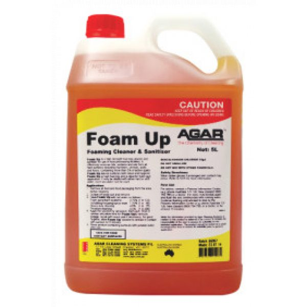 FOAM UP -SYDNEYCLEANINGSUPPLIES