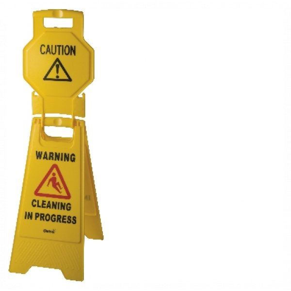 HIGH VIEW WARNING SIGN-SYDNEYCLEANINGSUPPLIES