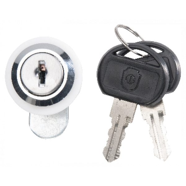 PLATINUM HOOD LOCK/KEY SET 30MM SCS