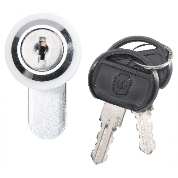 PLATINUM HOOD LOCK/KEY SET 40MM SCS
