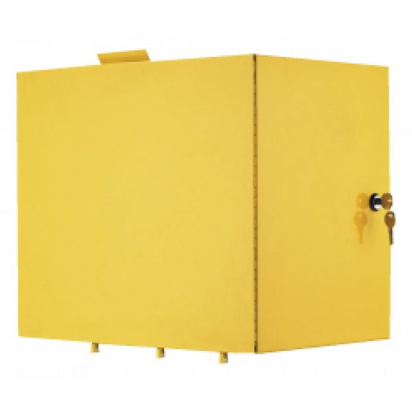 LOCKING COMPARTMENT YELLOW METAL SCS