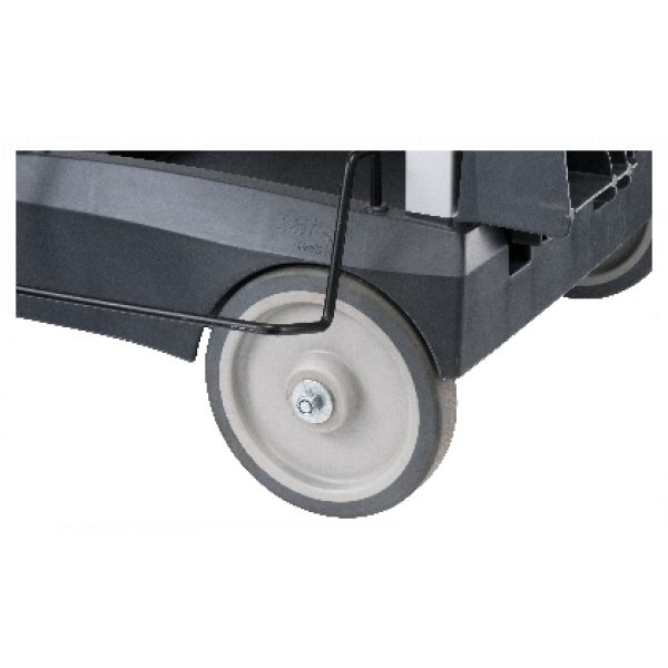 PLATINUM JANITORS CART REPLACEMENT BACK WHEEL SCS