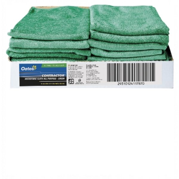 CONTRACTOR MICROFIBRE ALL PURPOSE CLOTHS (20PACK)-SYDNEYCLEANINGSUPPLIES