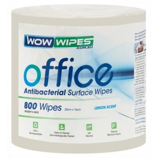 ANTIBACTERIAL OFFICE WIPES - BAMBOO FABRIC WIPES / SYDNEY CLEANING SUPPLIES