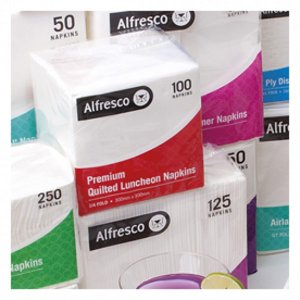 ALFRESCO PREMIUM QUILTED NAPKINS-SYDNEYCLEANINGSUPPLIES