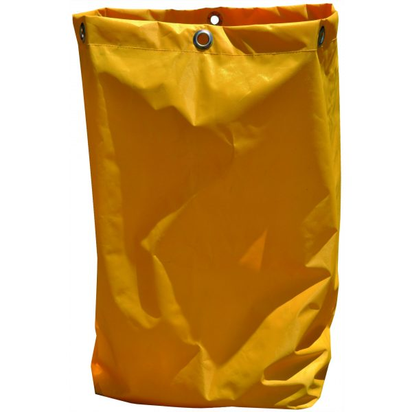 JANITOR CART YELLOW BAG-SYDNEYCLEANINGSUPPLIES