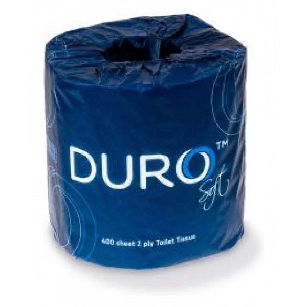 DURO TOILET PAPER (2ply 400s) - SYDNEY CLEANING SUPPLIES