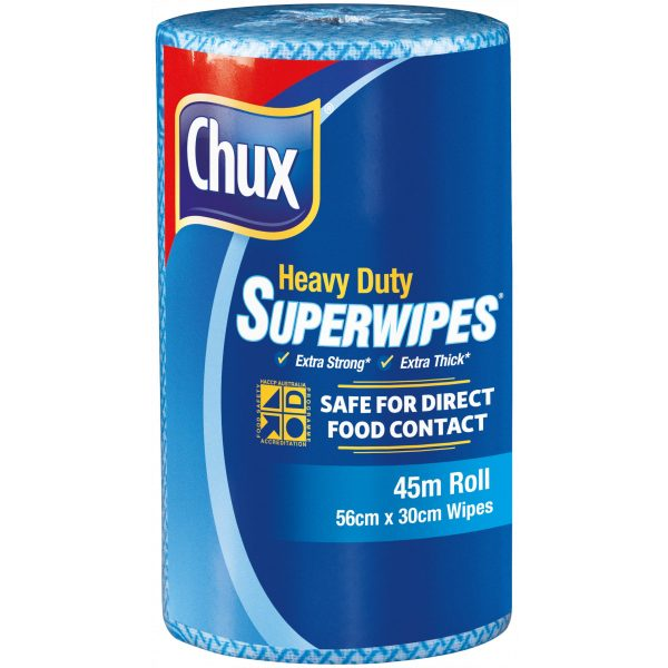 CHUX® SUPERWIPES® HEAVY DUTY ROLL 45m- SYDNEY CLEANING SUPPLIES