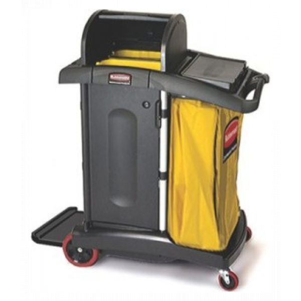 RUBBERMAID HIGH SECURITY CLEANING CART-SYDNEYCLEANINGSUPPLIES