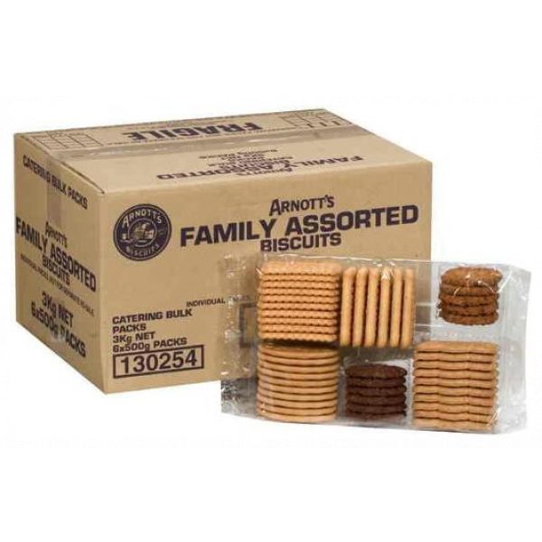 BISCUITS FAMILY ASSORTED BULK 3KG-SYDNEYCLEANINGSUPPLIES