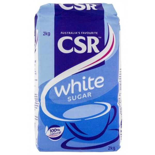CSR WHITE SUGAR 2KG-SYDNEYCLEANINGSUPPLIES