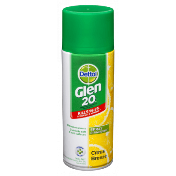 DETTOL GLEN 20 DISINFECTANT SPRAY-SYDNEYCLEANINGSUPPLIES
