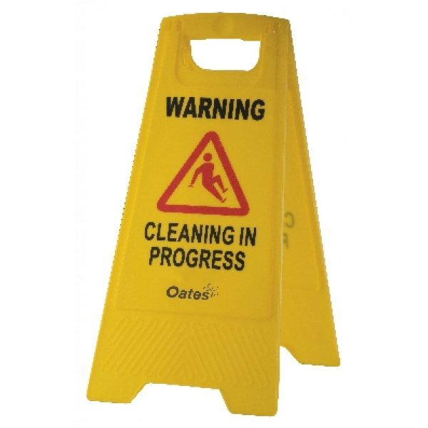 OATES CONTRACTOR 'A' FRAME 'WARNING' SIGN-SYDNEYCLEANINGSUPPLIES