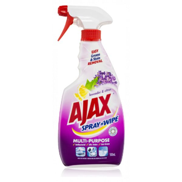 AJAX SPRAY N WIPE *LAVENDER & CITRUS*/SYDNEYCLEANINGSUPPLIES