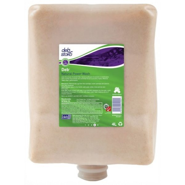 DEB NATURAL POWER WASH - CRUSHED OLIVE STONES/SYDNEYCLEANINGSUPPLIES