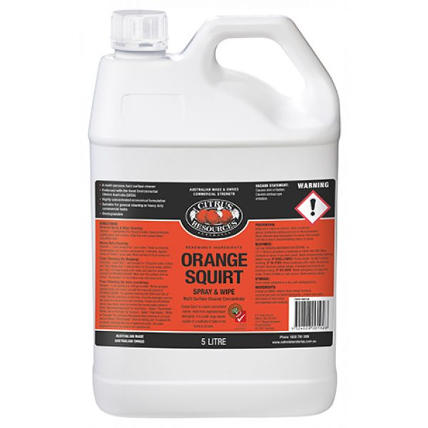 ORANGE SQUIRT-SYDNEYCLEANINGSUPPLIES