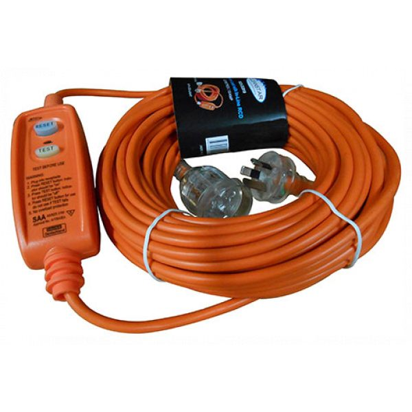EXTENSION LEAD 20m WITH IN-LINE RCD-SYDNEYCLEANINGSUPPLIES